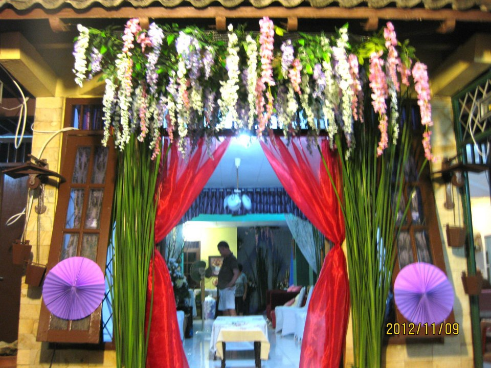 dekorasi pernikahan di rumah grace decoration